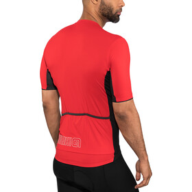 Alé Cycling Solid Color Block Kurzarm Trikot Herren red